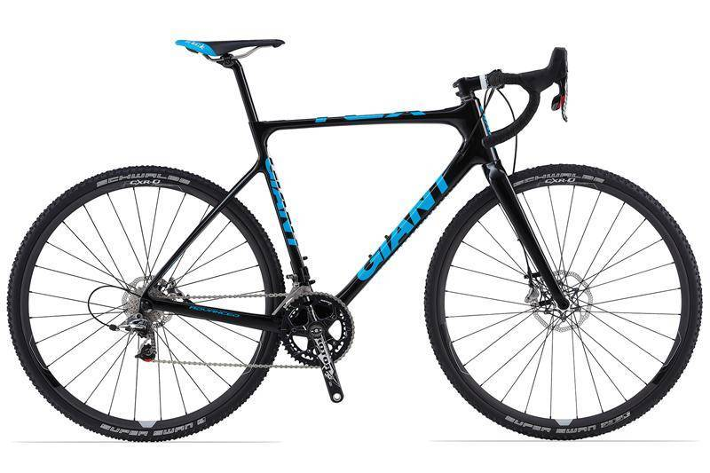 Giant MEN X-Road Performance Cyclocross TCX Advanced 0 Bicycle Bike