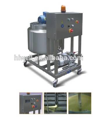 Hamburger Nuggets Tempura Batter Mixer for food factory DJJ100-II
