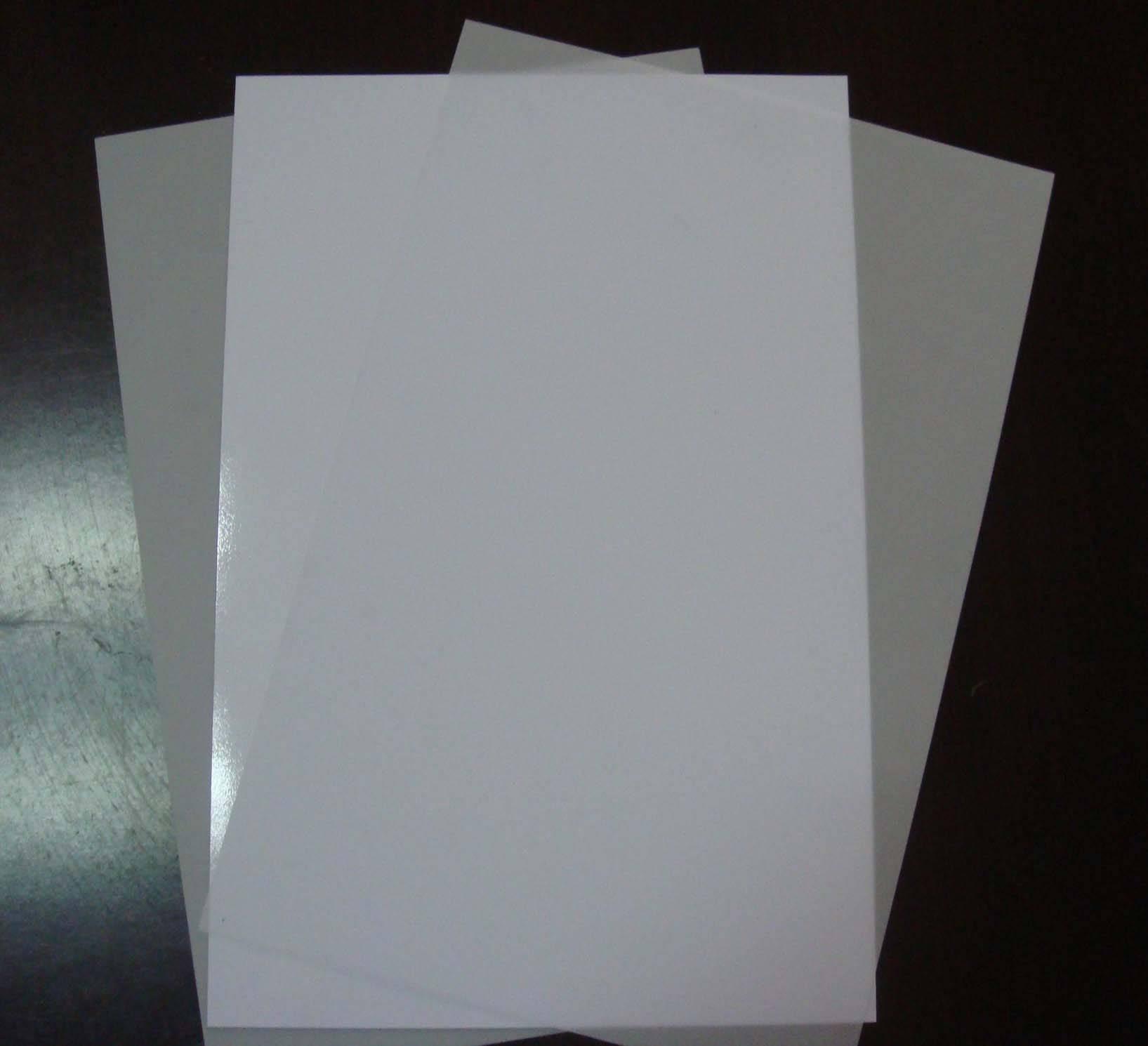 Non Lamination Inkjet PET Sheet, Inkjet PET Card Material
