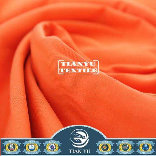 Fluorescent Fabric for Safety Vest Passed EN471