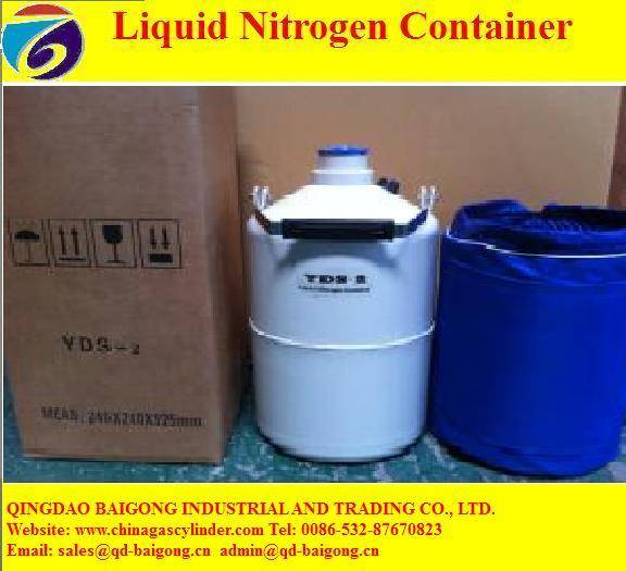 Sales liquid nitrogen container from China