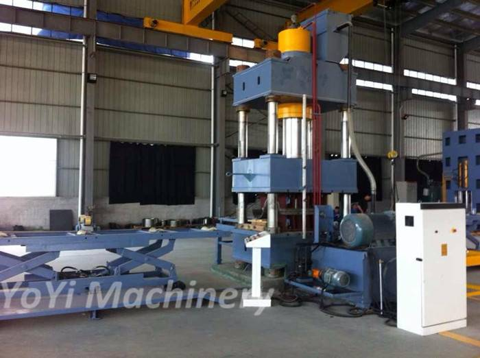 500T automatic hydraulic press machine