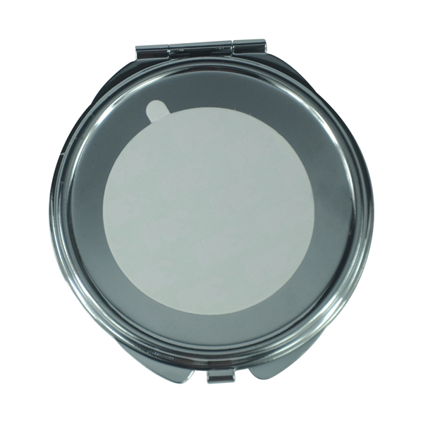 Metal Cosmetic Mirror(Thin Round)