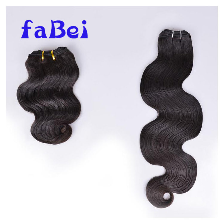 Vrigin Natural Brazilian Remy Sew In Weave Hair Double Drawn Peruvian Human Hair Weft