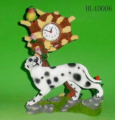 Polyresin clock