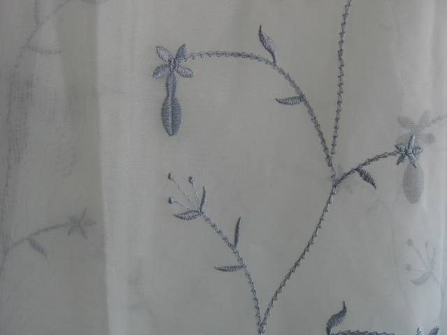 sell embroidered organza