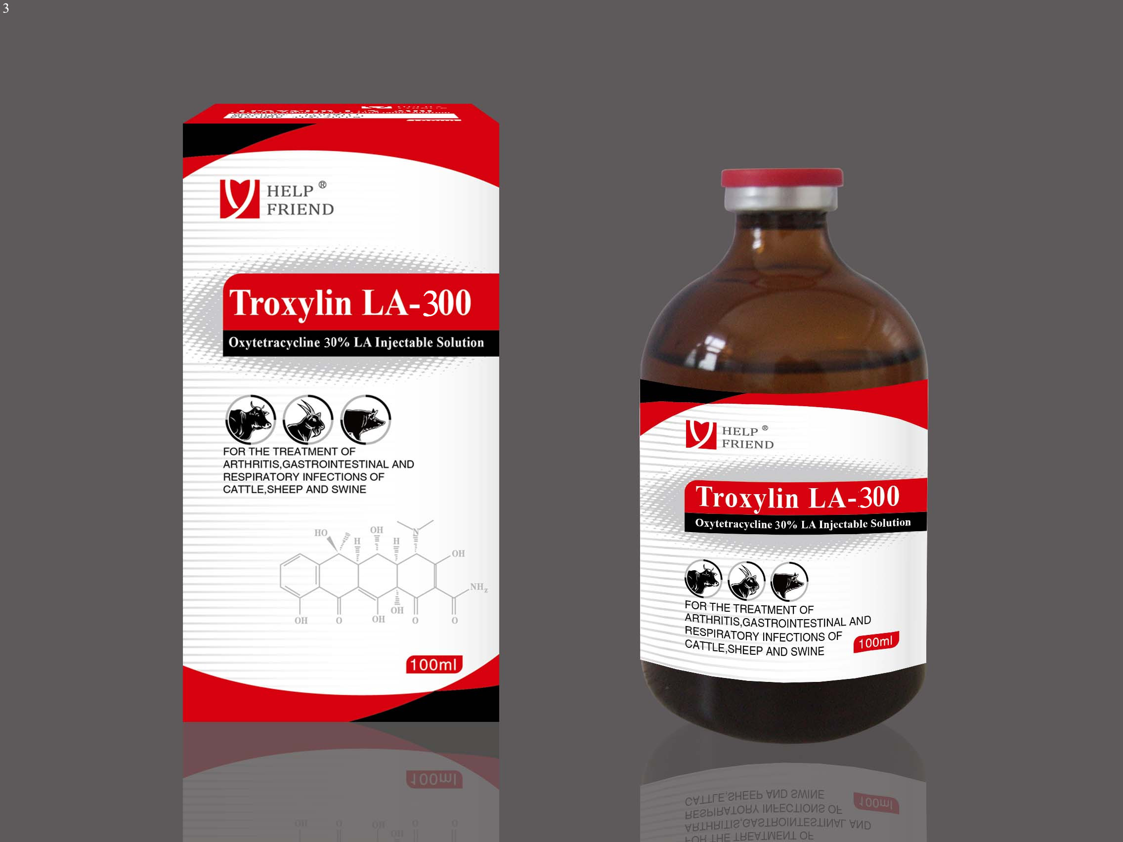 Oxytetracycline 30% Injectable Solution