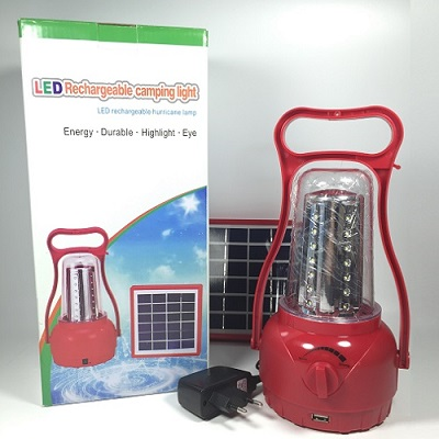 2018 solar emergency led lantern for remote rural