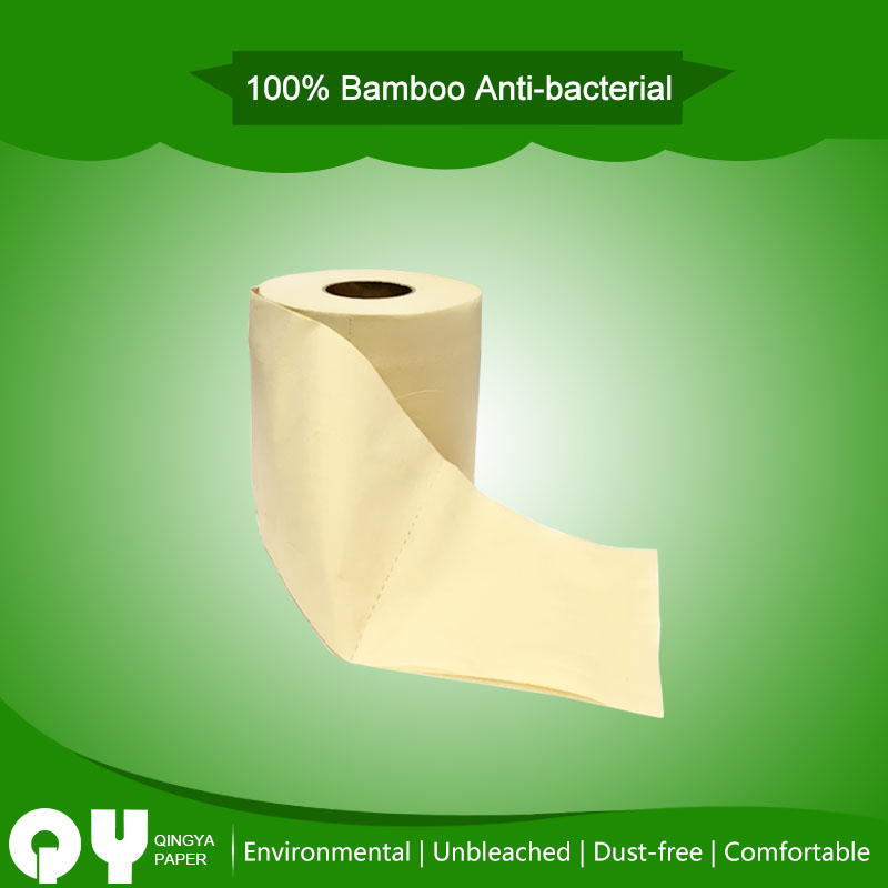 bamboo unbleached toilet paper roll