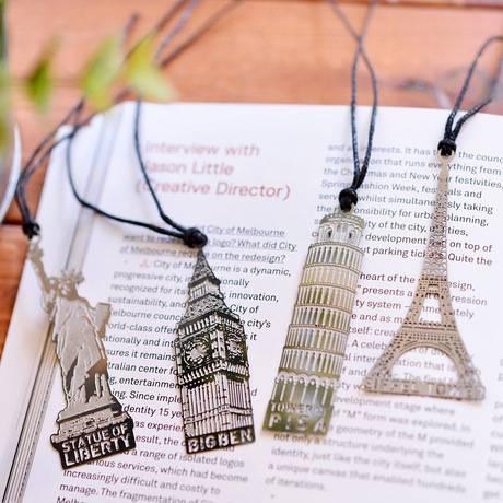 States Buildings Metal bookmark