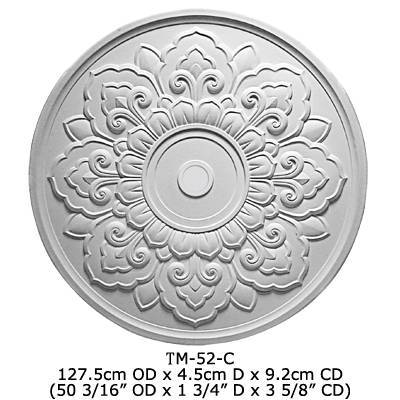 pu ceiling medallion