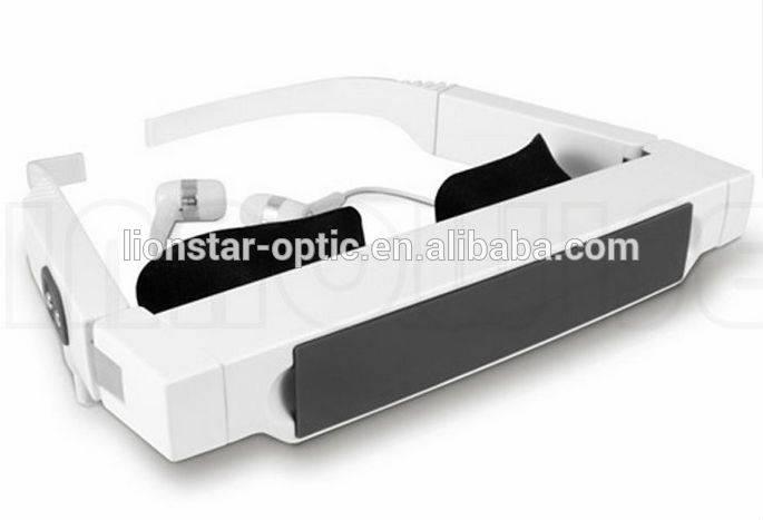 3D virtual display video glasses