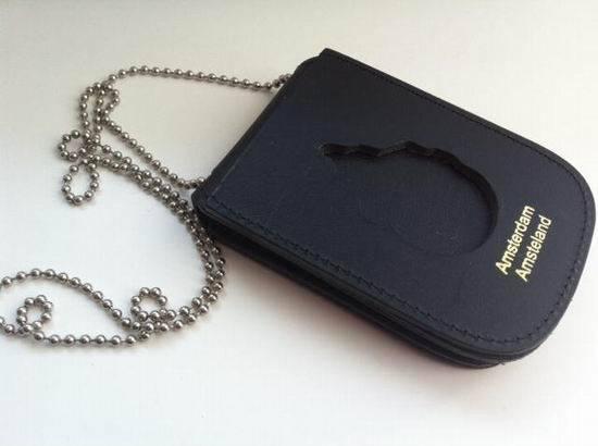 Leather Badge Holder Cases/ Badge Holder/ Leather Wallet