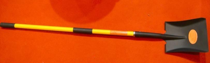 Fiberglass Handle Shovel (Square mouth Spade) -S519