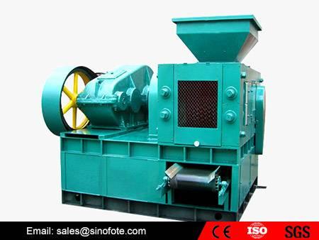 Coal powder briquette making machine