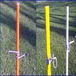 Fiberglass Stakes, Tree Stakes, Nursery Stake, Grape Stake Fiberglass Flower Stick, Garden Stake Fib