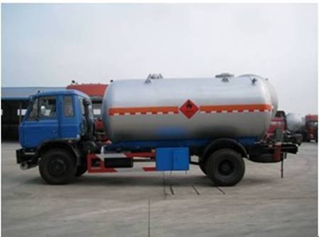 DONGFENG 2 Axle LPG Transporting Tanker Truck