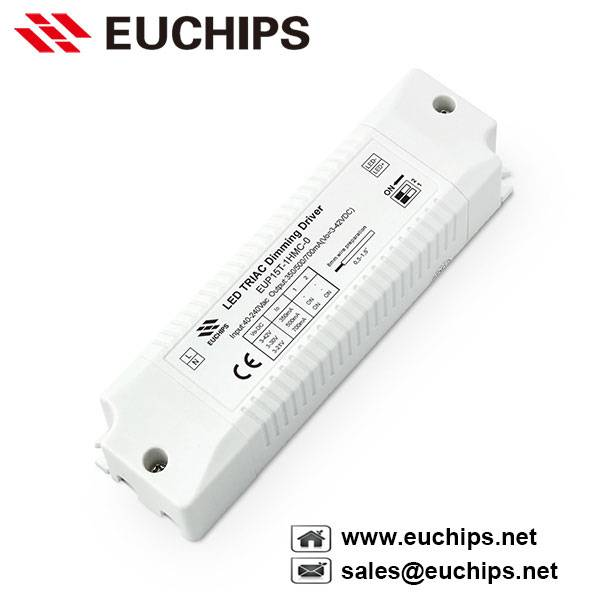 350/500/700mA 1 channel 15W triac dimming constant current led driver EUP15T-1HMC-0