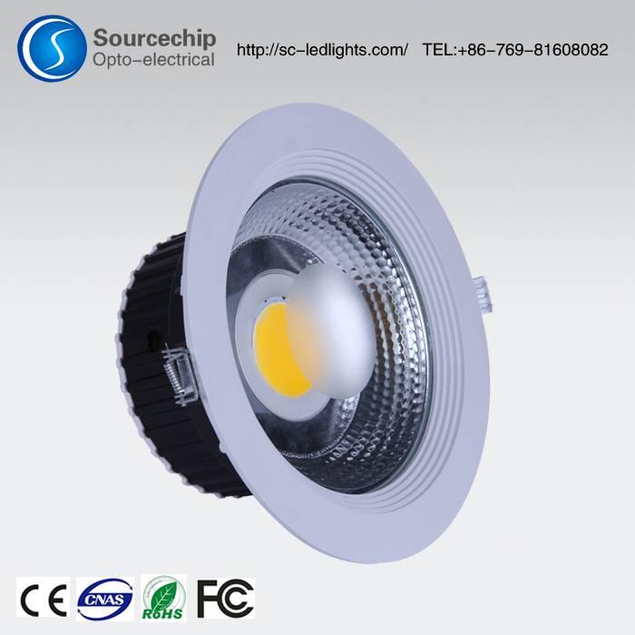 cob 30w led down light supply store   cob 30w led down light developer of embedded