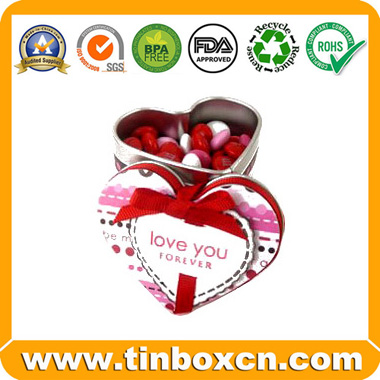 Sell heart-shaped candy tin,candy tin box,candy can,tin box for candy packaging,food tin box