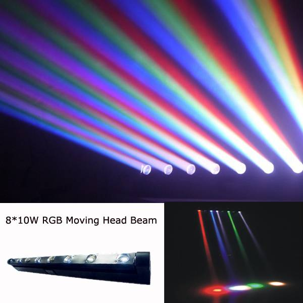 stage light moving beam bar 810w rgbw
