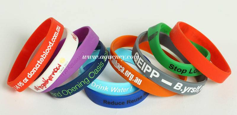 Custom Silicone bracelet, Silicone wristband from Shenzhen Factory