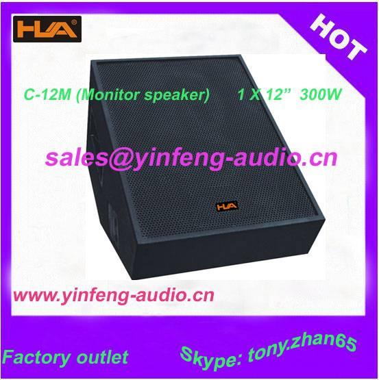 Professional monitor speaker