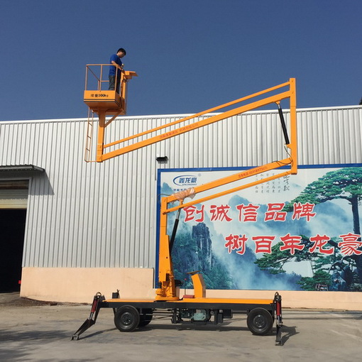 selling China 12m Self-propelled Articulated Work Platform