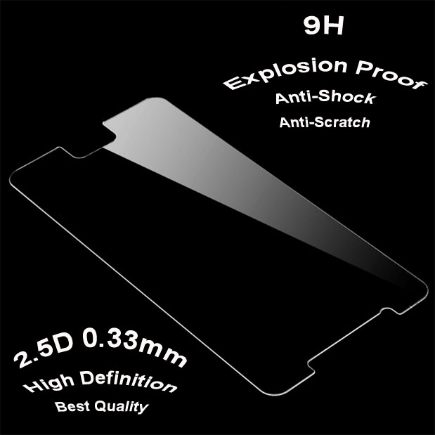 clear gold tempered glass screen protector for iPhone for Samsung galax