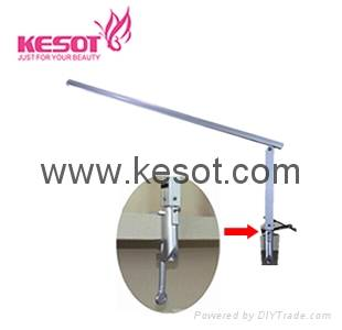 Slimline nail table lamp with flexiable clamp (KS-PTL002)