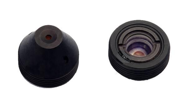 XS--8058-A-15 Pinhole lens for mini camera, pinhole camera, hidden camera, 1/3, 4.3mm