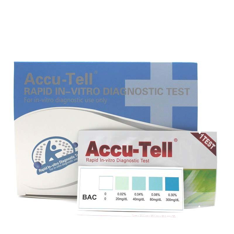 Accu-Tell®Alcohol Rapid Test Strip (Saliva)