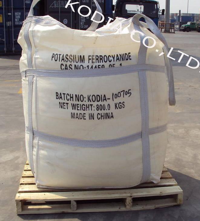 Ferrocianuro de potasio H.S.Code: 28372000 - Kodia Company Limited