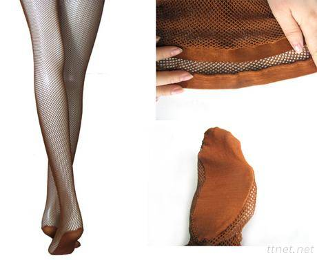 Professional dance fishnet tights