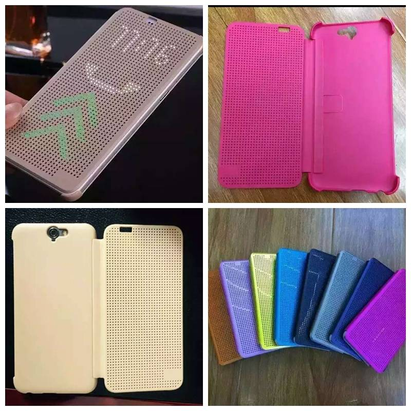High Copy HTC DOT View Case, Cell phone Protective Cases, Mobile phone Cover Flip Leather Cases