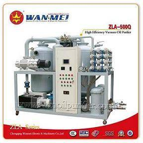 ZLA Series Double-Stages High Efficiency Vacuum Oil Purifier
