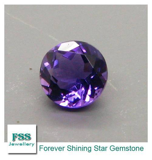 Amethyst AAA Round Melee Calibrated Gemstones 1.0mm1.0mm