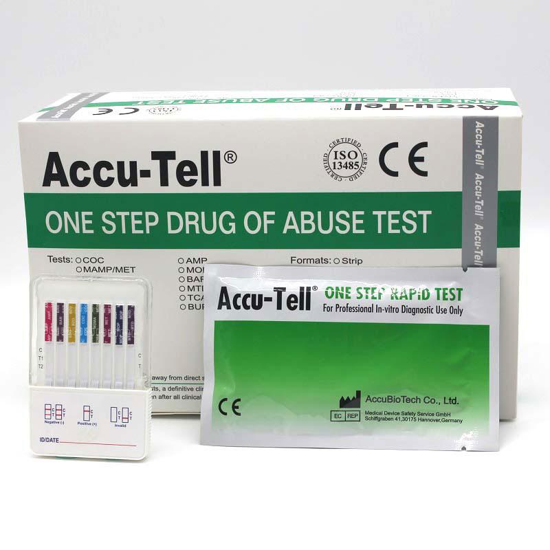 Accu-Tell®Multi-Drug Fast-Dip Rapid Test Panel (Urine)