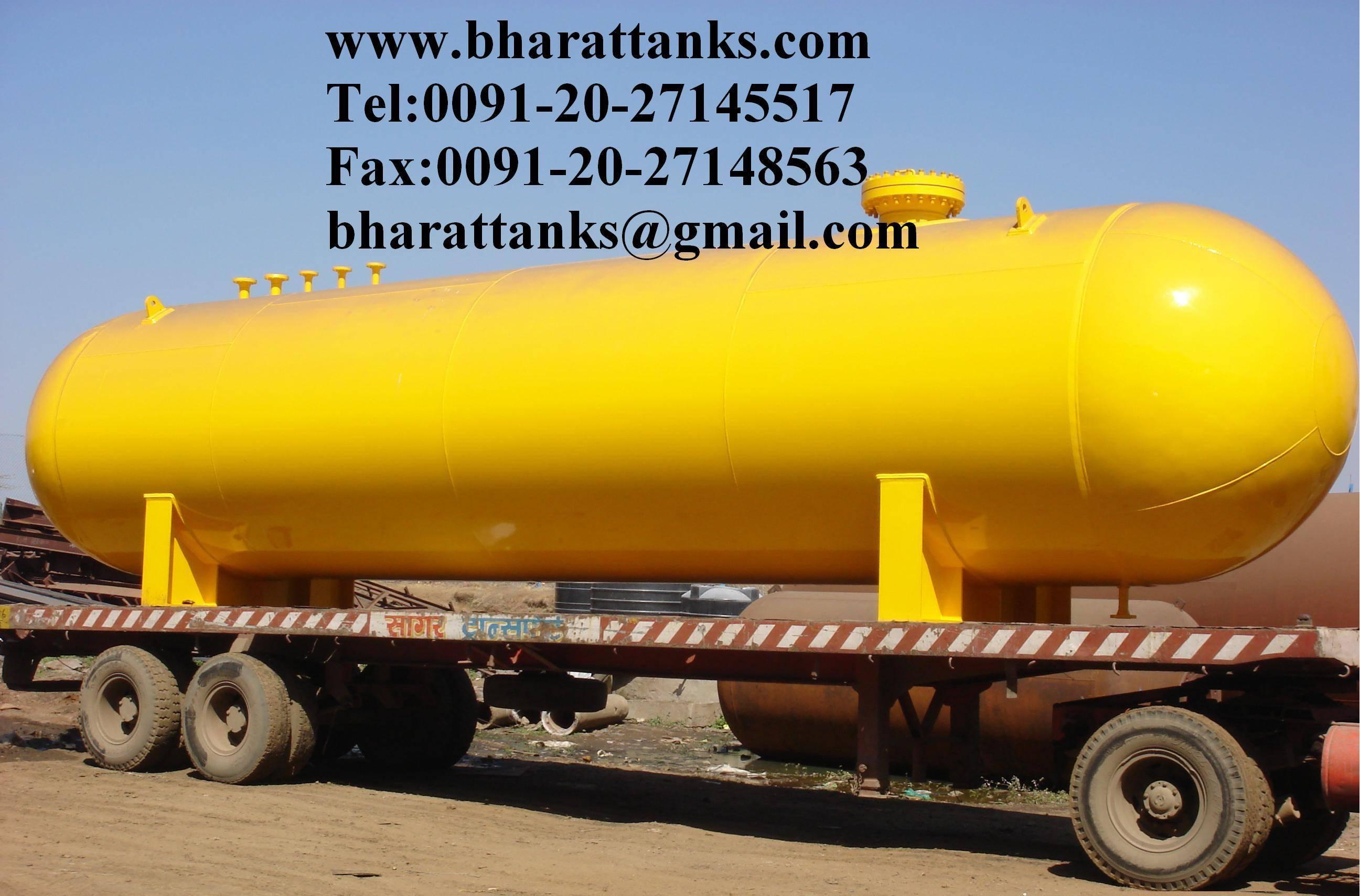Hydrogen gas storage tanks