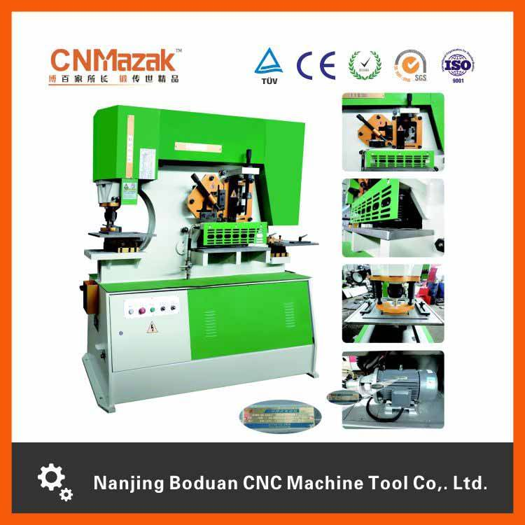 Combined punching and shearing machine with top quality