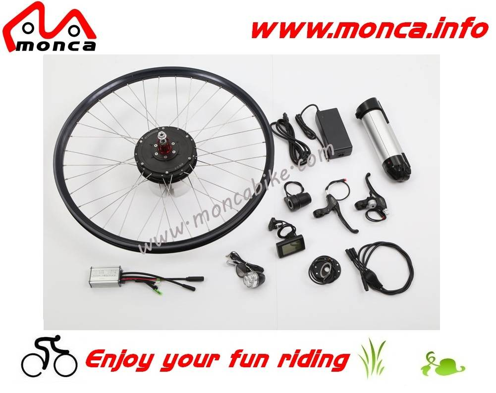 Electric Bike Kits with 36V Bottle Shape Lithium Battery