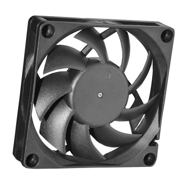 707015mm Customized DC Axial Fan FDB(S)7015-B 12/24/48V Two ball & Sleeve Bearing Cooling Fan