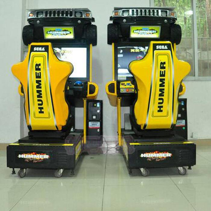 Arcade game machine Hummer Racing Game Machine for sale