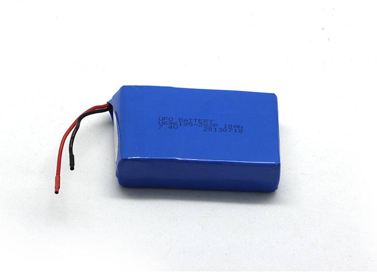 7.4v 10Ah Li-ion Battery Pack Rechargeable Power Battery