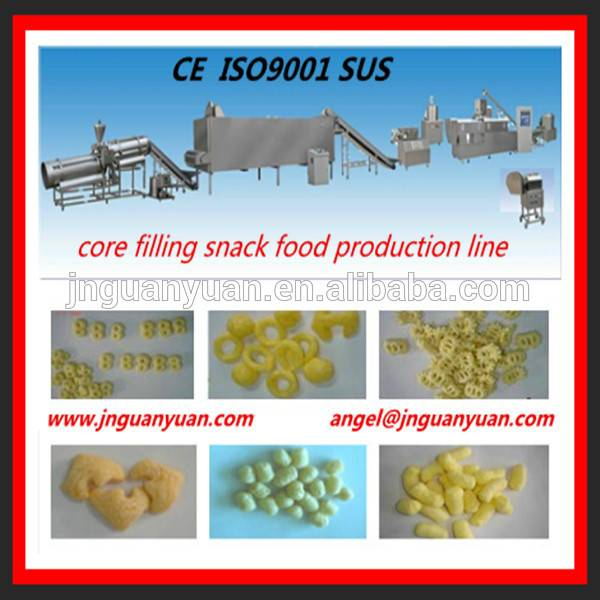 Multi-functional Core Filling Snack Food Making Machine/Plant/Equipment