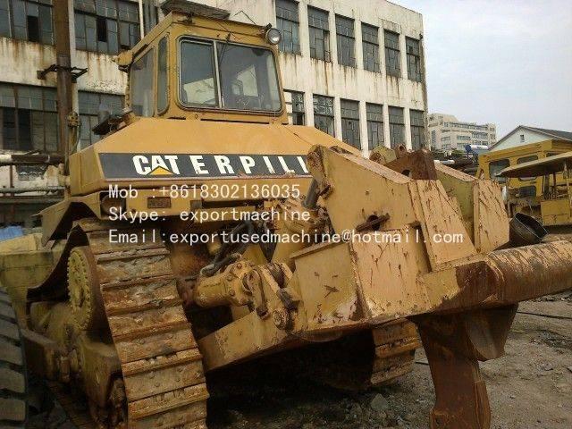 used cat D8K bulldozer for sale in China Japan bulldozer