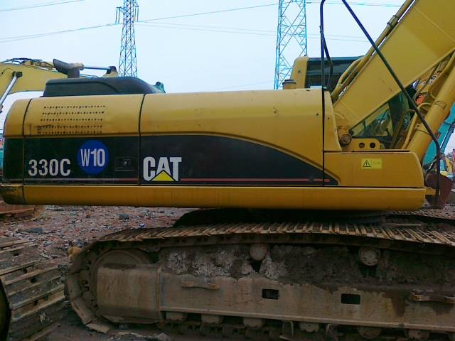 crawler tractor carter excavator cat330c digging machine