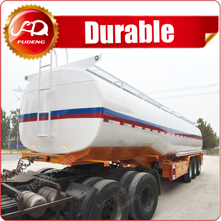 2017 new 45000 liters fuel man diesel tank semi trailer truck sale