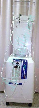 Skin oxygen jet for beautician