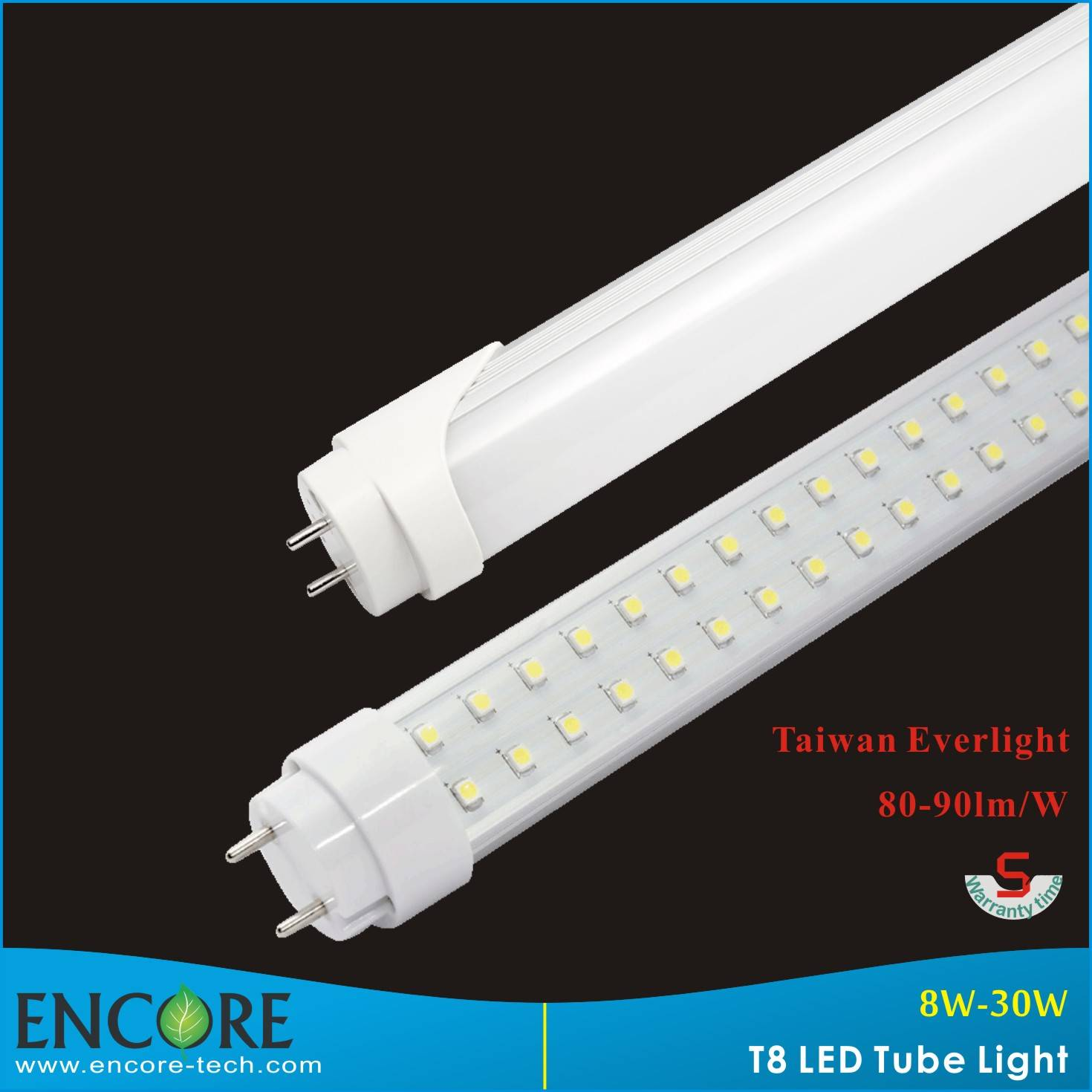 15W, 18W, 20W 22W high bright 1200mm t8 led tube
